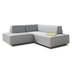 Happy Combination with a short and a long element | Garden sofas | Rausch Classics