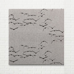 Kurage Wall Panel System 30 | Square | Aquatic Duck | Metal sheets | Kurage