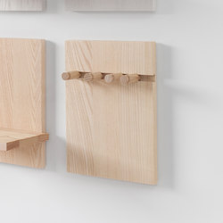 Wall Shelf pegs | Percheros de ganchos | Stattmann