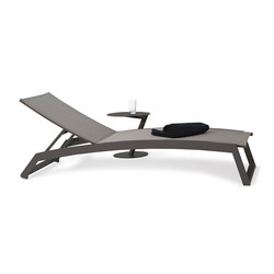 Long Beach Sun lounger aluminium adjustable | Lettini giardino | Rausch Classics