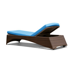 Florida Pompano Beach Sun lounger synthetic weave | Sun loungers | Rausch Classics