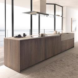 Twenty 4 island in Rovere Ossidato | Island kitchens | Modulnova