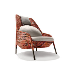 Ahnda Wing chair | Garden armchairs | DEDON