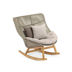 Mbrace Rocking chair | Garden armchairs | DEDON