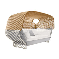 Tigmi Deep sofa with roof | Seating islands | DEDON