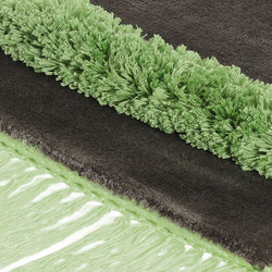 Funky Revolution morel green flash | Tapis / Tapis design | Miinu
