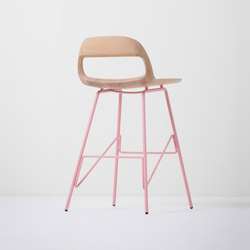 Leina bar chair | low | 46,5x48,5x84 | Barhocker | Gazzda