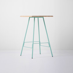 Leina bar table | 70x70x110 | Mesas altas | Gazzda
