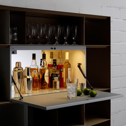 Stack Bar-Element | Shelving | Müller Möbelfabrikation