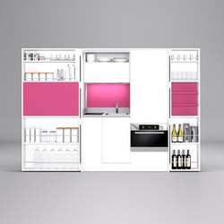 Pia Bond | Compact kitchens | dizzconcept