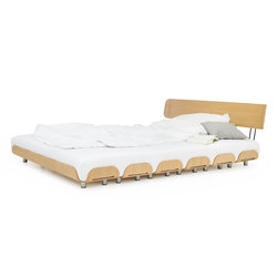 Tiefschlaf back rest 140 bed | Basi letto | Stadtnomaden