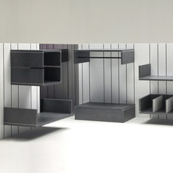 Lind modular storage system | Modular structural systems | Dizz Concept