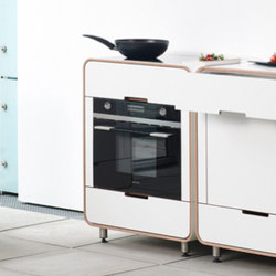A la carte electrical appliance module: oven | Modular kitchens | Stadtnomaden