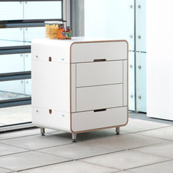 A la carte storage module | Modular kitchens | Stadtnomaden