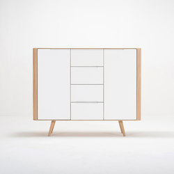 Ena dresser two | 135x42x110 | Sideboards / Kommoden | Gazzda