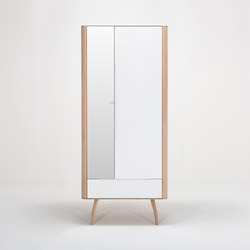 Ena hallway wardrobe | 90x35x200 | Garderobenschränke | Gazzda