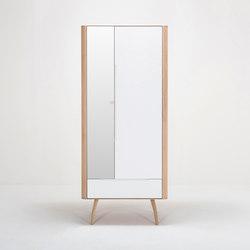 Ena hallway wardrobe | 90x35x200 | Cloakroom cabinets | Gazzda