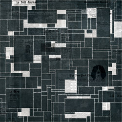Black Bricks | Wall coverings / wallpapers | Wall&decò
