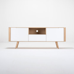 Ena TV sideboard two | 160x42x60 | Credenze | Gazzda