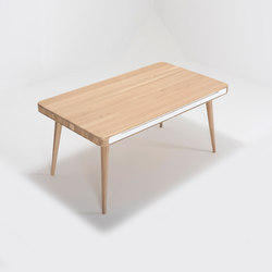 Ena table two | 160x90x75 | Dining tables | Gazzda