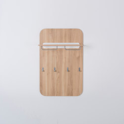 Ena wall coat rack | 70x3x110 | Percheros | Gazzda