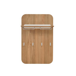 Ena wall coat rack | Built-in wardrobes | Gazzda
