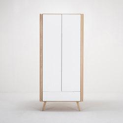 Ena wardrobe | 90x55x200 | Cabinets | Gazzda