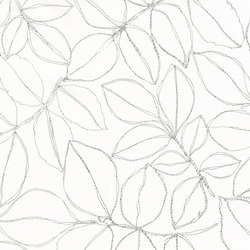 FLORA - 91 GRAPHITE | Curtain fabrics | Nya Nordiska
