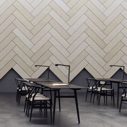 BAUX Acoustic Tiles Plank - Workplace | Wood panels | BAUX