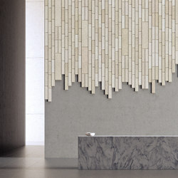 BAUX Acoustic Tiles Plank - Reception | Wood panels | BAUX
