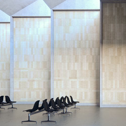 BAUX Acoustic Tiles Plank - Terminal | Wood panels | BAUX