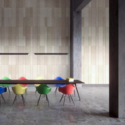 BAUX Acoustic Tiles Plank - Meeting | Wood panels | BAUX