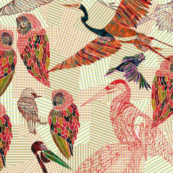 Pencil Birds | Wall coverings | Wall&decò