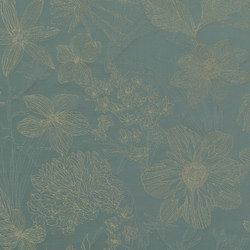 AMALIA - 04 PETROL | Curtain fabrics | Nya Nordiska