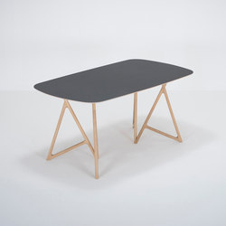 Koza table | 160x90x75 | linoleum | Dining tables | Gazzda