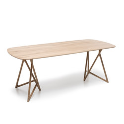 Fawn - koza table | Dining tables | Gazzda