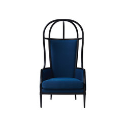 Laval Crown Chair One Seater Opened Roof | Poltrone | Stellar Works