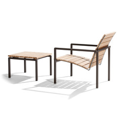 Natal Alu Teak Easy chair | Poltrone da giardino | Tribù