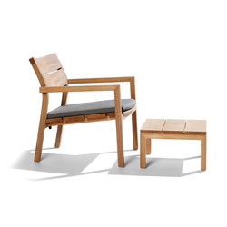 Kos Teak Easy chair | Gartensessel | Tribu