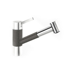 BLANCO TIVO-S | SILGRANIT Anthracite Chrome | Kitchen taps | Blanco