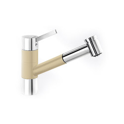 BLANCO TIVO-S | SILGRANIT Champagne Chrome | Kitchen taps | Blanco
