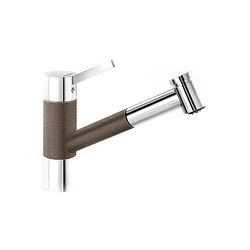 BLANCO TIVO-S | SILGRANIT Coffee Chrome | Kitchen taps | Blanco