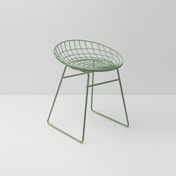 Wire stool KM05 | Hocker | Pastoe