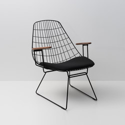 Wire lounge chair FM06 | Sedie | Pastoe