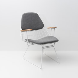 Wire lounge chair FM06 | Chairs | Pastoe