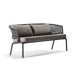 CTR Two-seater | Gartensofas | Tribù