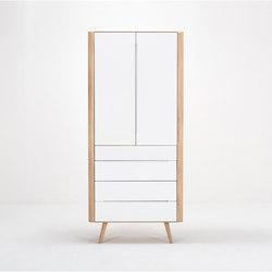 Ena office cabinet | 90x35x200 | Schränke | Gazzda