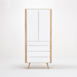 Ena office cabinet | 90x35x200 | Cabinets | Gazzda
