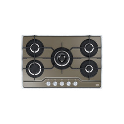 Frames by Franke Hob FHFS 785 4G TC CH C Stainless Steel Glass Black | Placas de cocina | Franke Kitchen Systems
