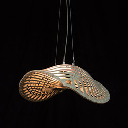 Navicula | Suspended lights | David Trubridge Studio